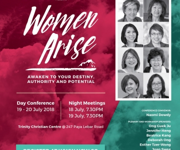 'Women Arise' Day Conference (19 – 20 July 2018)