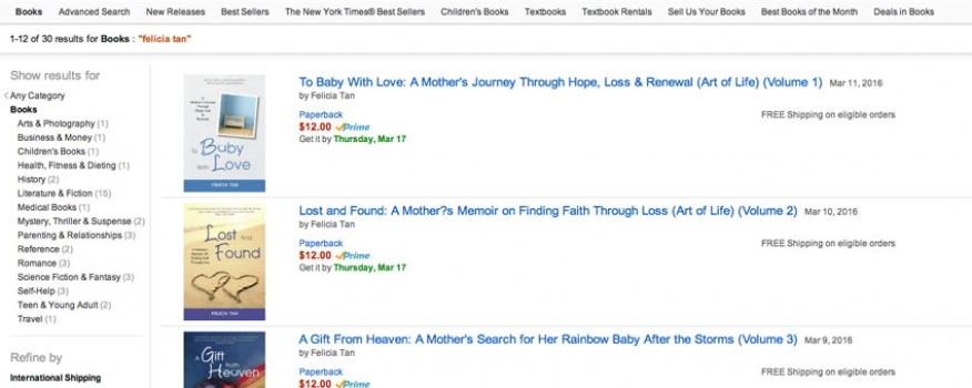 Books on Amazon